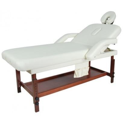 Стационарный массажный стол деревянный FIX-1A (МСТ-7Л)